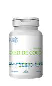 OLEO DE COCO 1000 MG 120 CAP PURIS